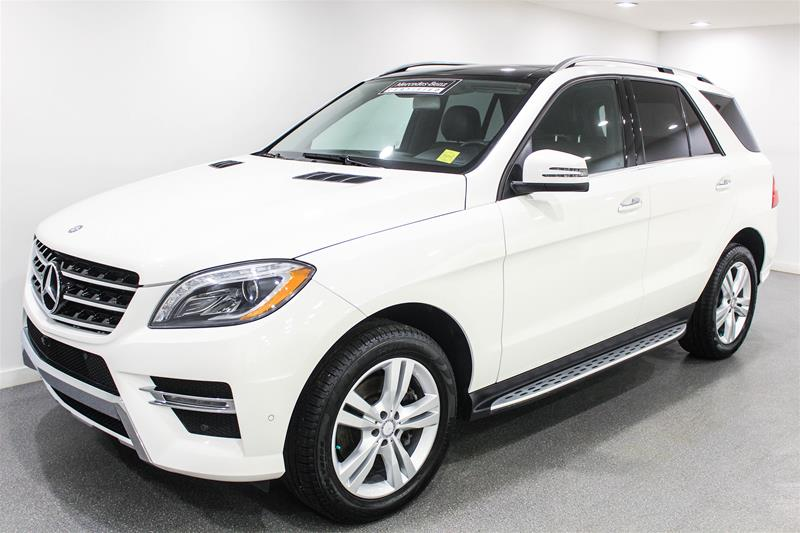 Certified Pre Owned 2014 Mercedes Benz ML CLASS ML350