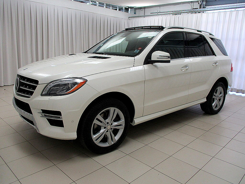 Pre owned 2013 mercedes benz ml ml350 bluetec diesel suv for Mercedes benz ml350 bluetec price