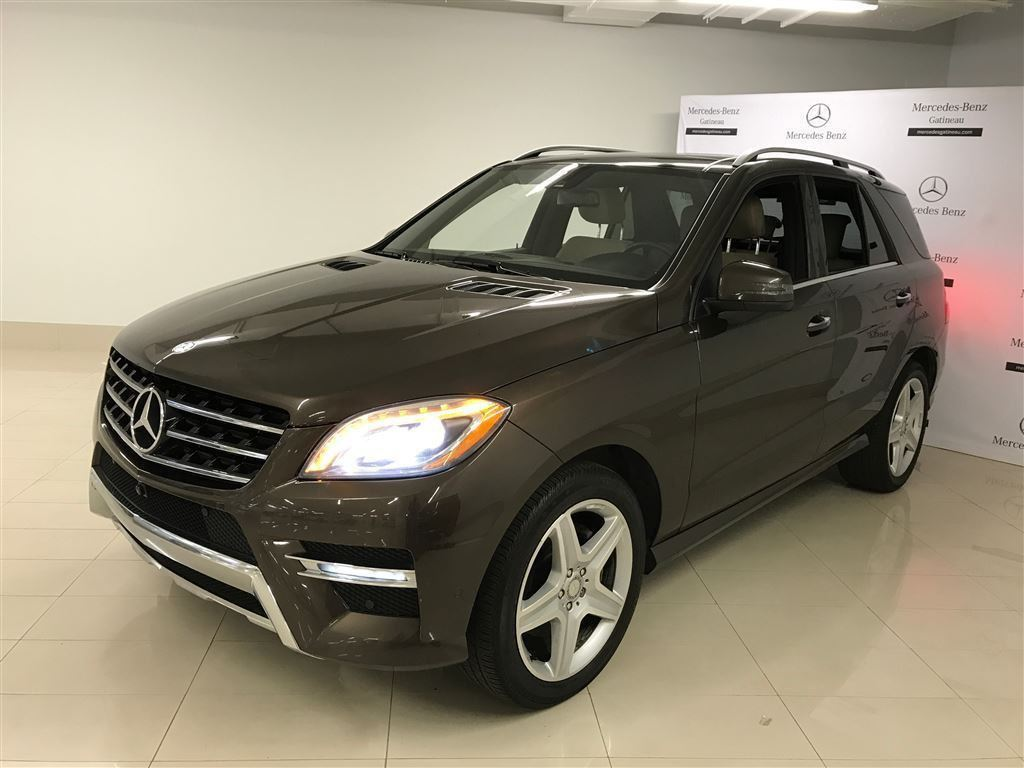 Certified pre owned 2014 mercedes benz ml class ml350 suv for Pre owned mercedes benz suv