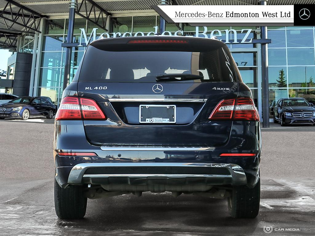 Certified Pre-Owned 2015 Mercedes-Benz M-CLASS ML400