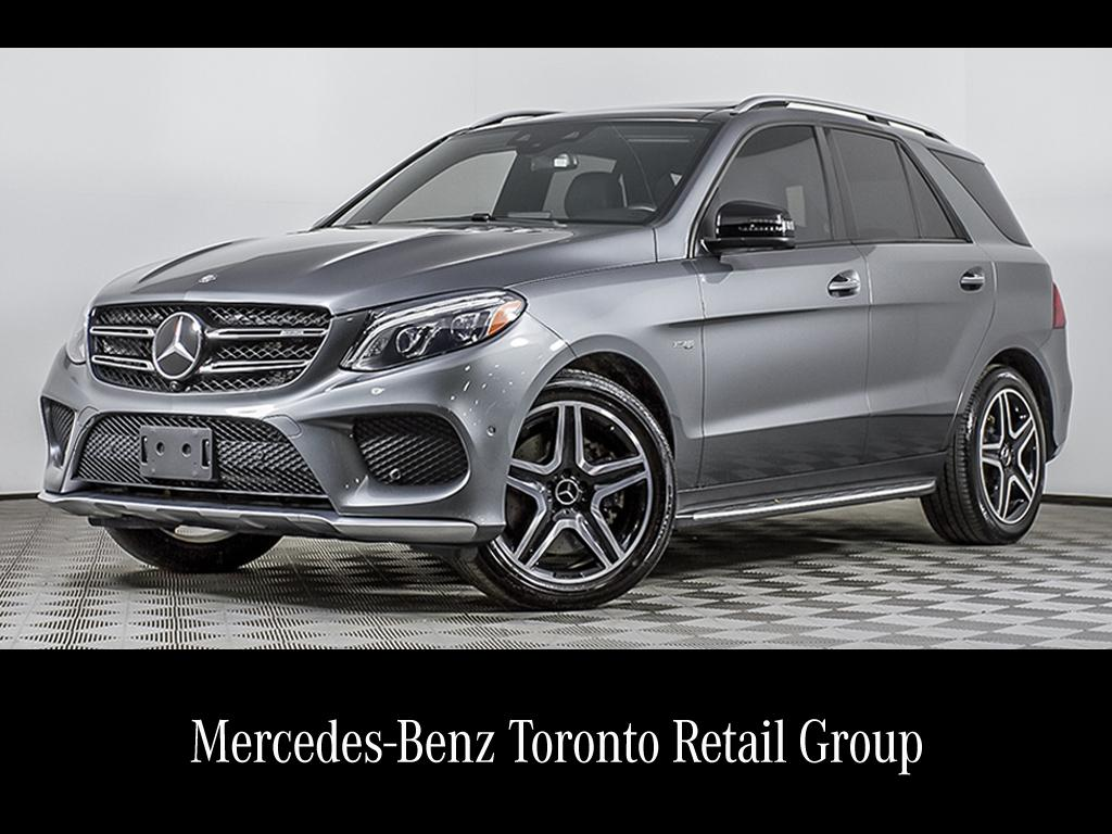 Certified Pre Owned 2017 Mercedes Benz Gle Gle43 Amg Suv
