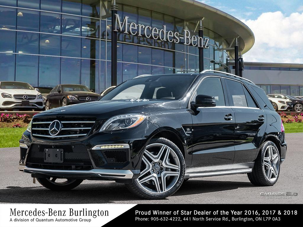 Beautiful Certified Pre Owned 2015 Mercedes Benz ML CLASS ML63 AMG