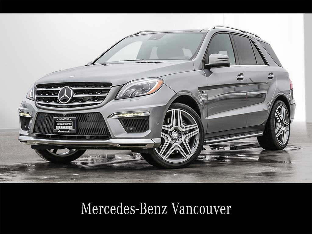 Certified Pre Owned 2015 Mercedes Benz ML CLASS ML63 AMG