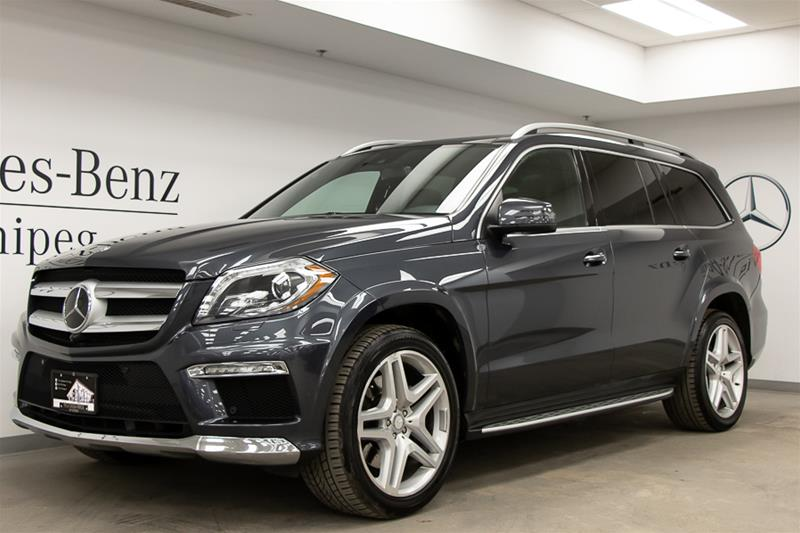 Certified Pre-Owned 2016 Mercedes-Benz GL-CLASS GL350