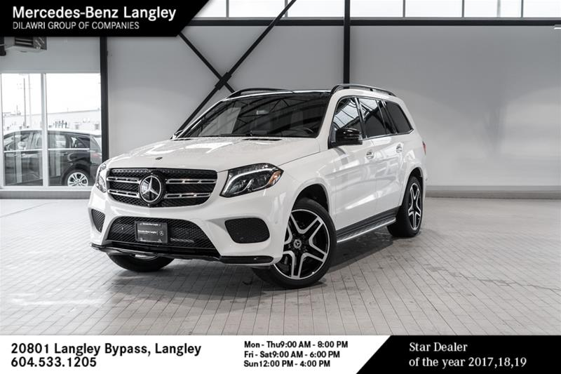 Certified Pre-Owned 2018 Mercedes-Benz GLS GLS550
