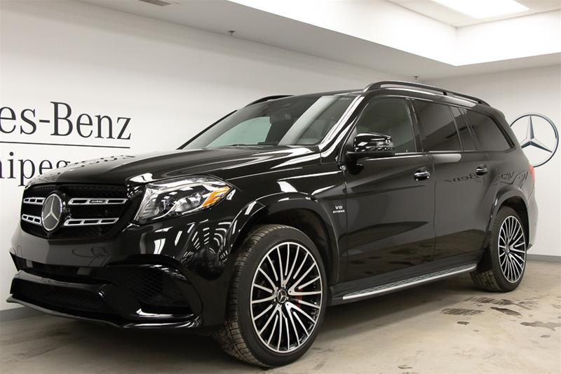 Certified Pre-Owned 2018 Mercedes-Benz GLS GLS63 AMG