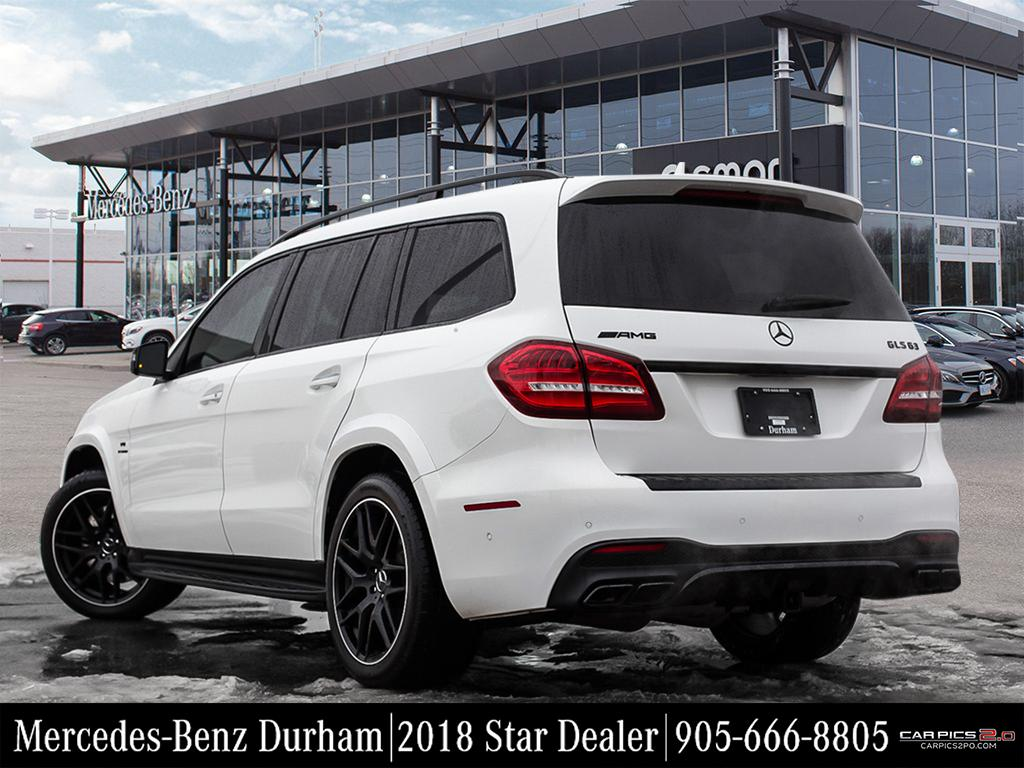 Certified pre owned 2017 mercedes benz gls gls63 amg suv for Mercedes benz pre owned inventory