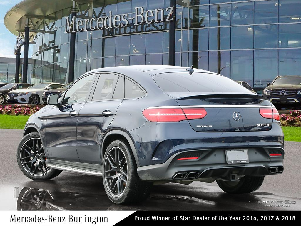 Certified Pre-Owned 2018 Mercedes-Benz GLE GLE63 AMG