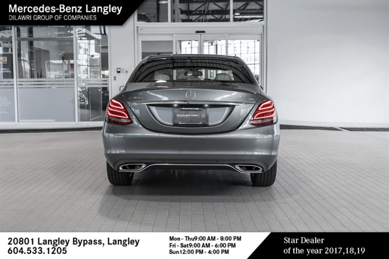 Certified Pre-Owned 2018 Mercedes-Benz C-CLASS C300