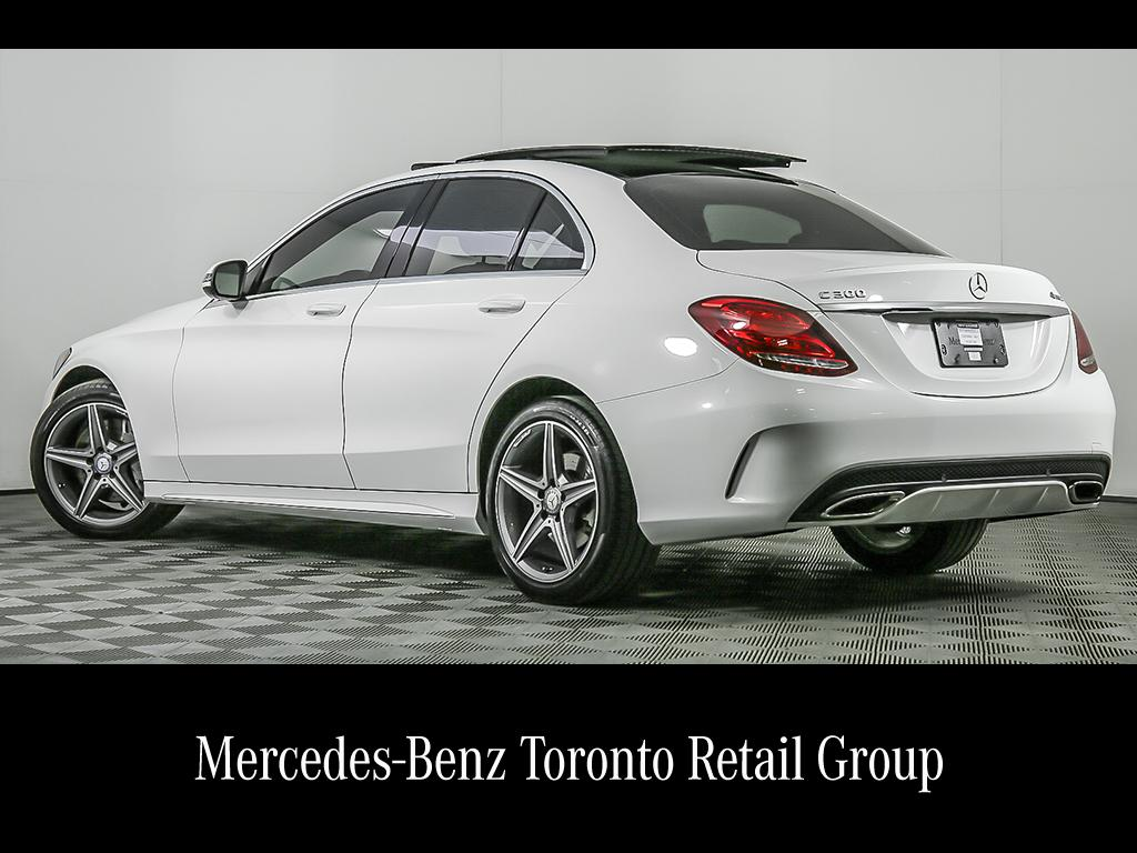 Certified Pre-Owned 2017 Mercedes-Benz C-CLASS C300