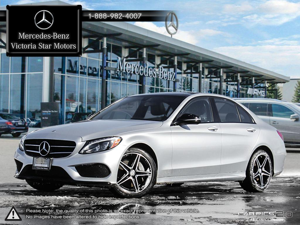 Certified pre owned 2017 mercedes benz c class c300 sedan for Mercedes benz canada pre owned