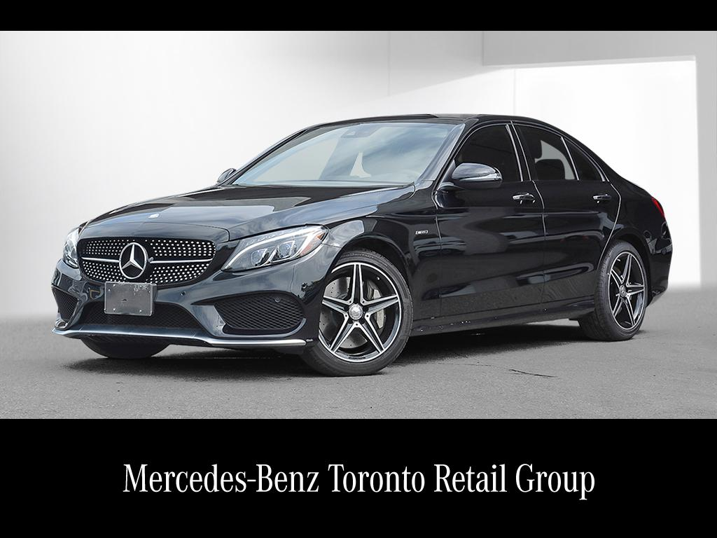 Certified pre owned 2016 mercedes benz c class c450 amg 4 for Mercedes benz c class pre owned