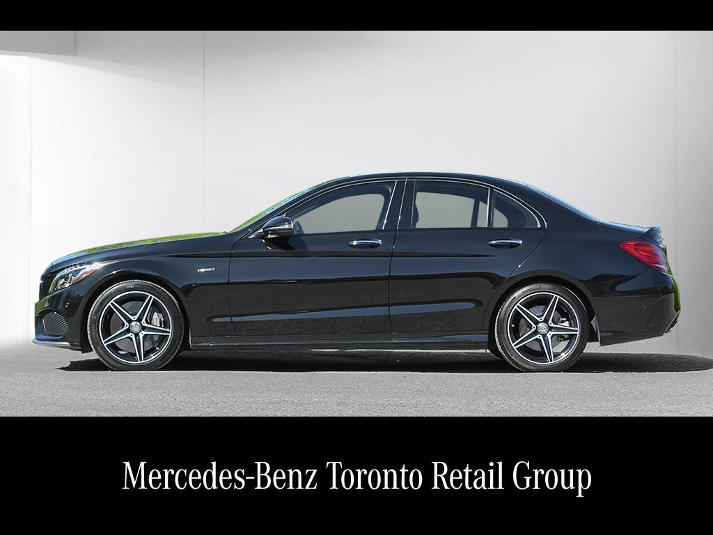 Certified pre owned 2016 mercedes benz c class c450 amg 4 for Mercedes benz certified preowned