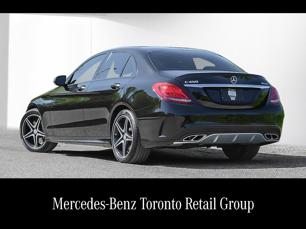 Certified pre owned 2016 mercedes benz c class c450 amg 4 for Certified pre owned mercedes benz