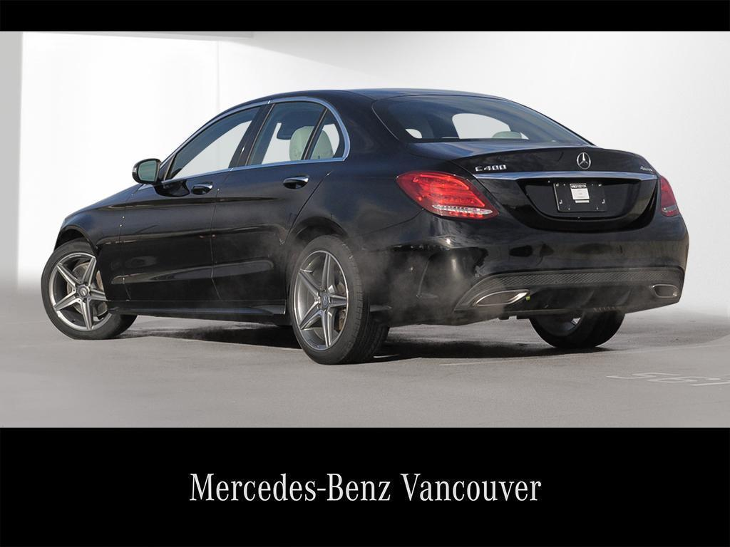 Certified Pre-Owned 2015 Mercedes-Benz C-CLASS C400
