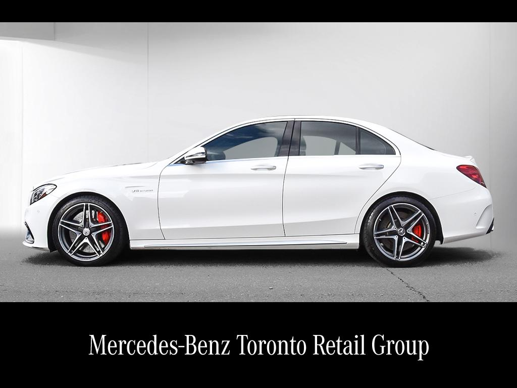 Certified pre owned 2017 mercedes benz c class c63 s amg for Mercedes benz c class pre owned