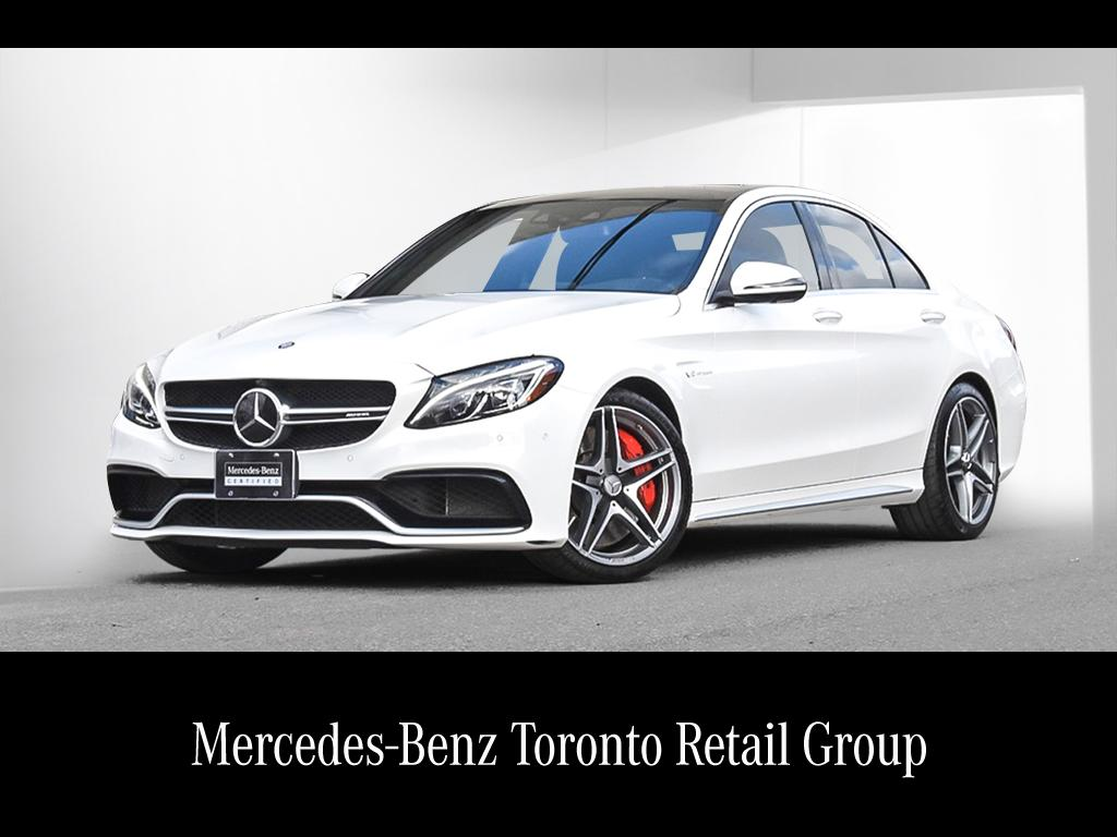 Certified pre owned 2017 mercedes benz c class c63 s amg for Mercedes benz certified pre owned canada