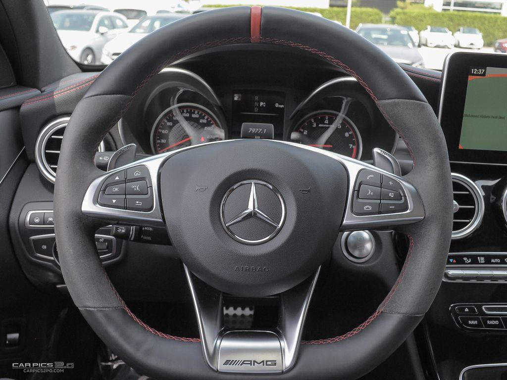 Certified Pre-Owned 2017 Mercedes-Benz C-CLASS C63 S AMG