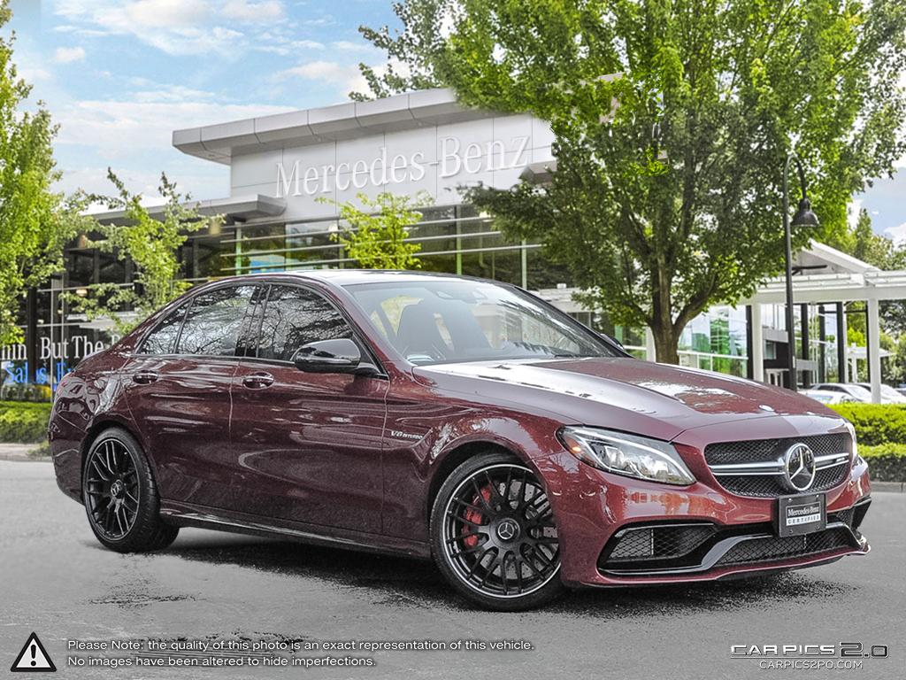 certified pre owned 2016 mercedes benz c class c63 s amg 4. Black Bedroom Furniture Sets. Home Design Ideas