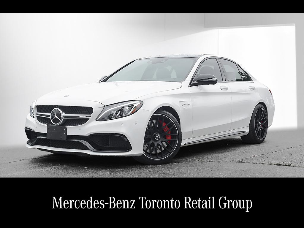 Certified pre owned 2016 mercedes benz c class c63 s amg 4 for Certified pre owned mercedes benz