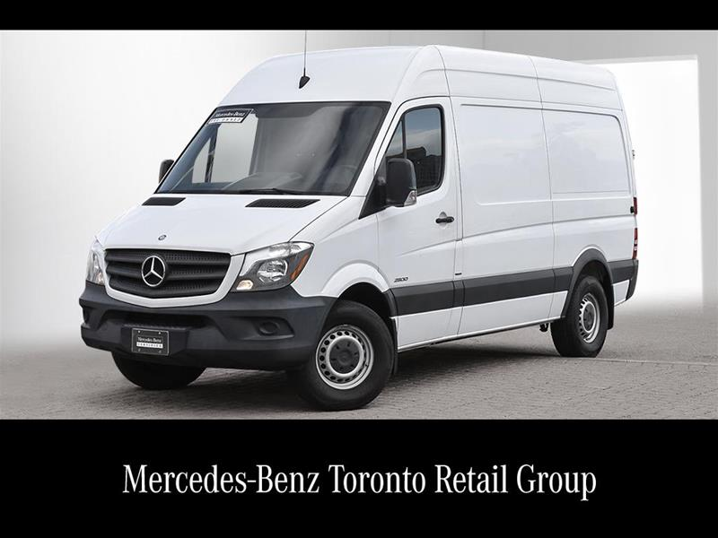 Certified Pre-Owned 2015 Mercedes-Benz Sprinter 2500 Cargo Sprinter 2500 Cargo 144