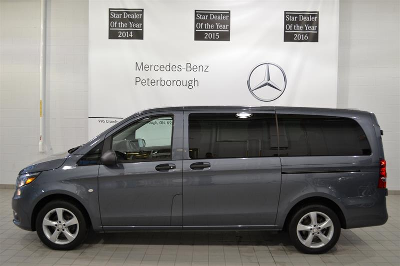 certified pre owned 2016 mercedes benz metris metris passenger van van p2408 mercedes benz of. Black Bedroom Furniture Sets. Home Design Ideas