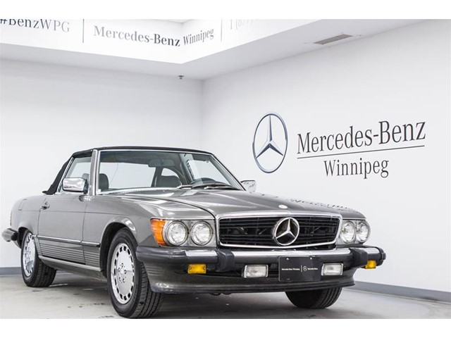 Pre owned 1986 mercedes benz 560sl convertible c42665 for Pre owned mercedes benz ny