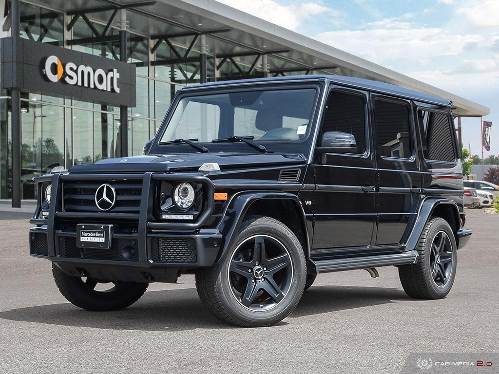 Certified Pre-Owned 2016 Mercedes-Benz G-CLASS G550