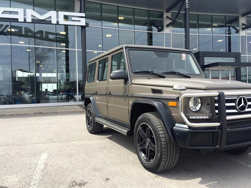 Certified pre owned 2016 mercedes benz g class g550 suv for Pre owned mercedes benz g class