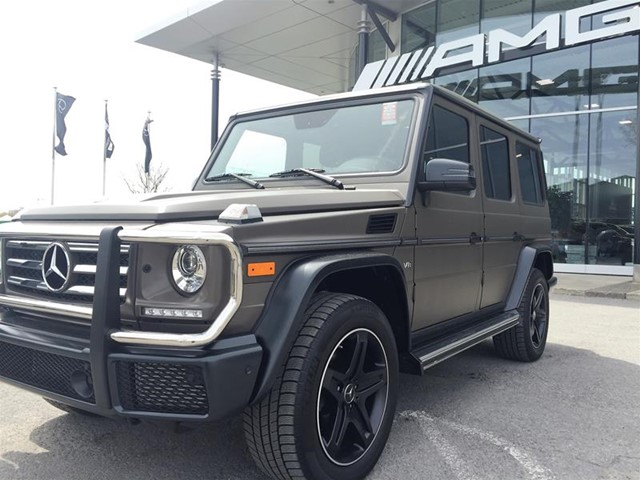 certified pre owned 2016 mercedes benz g class g550 suv p5309 mercedes benz of canada new and. Black Bedroom Furniture Sets. Home Design Ideas