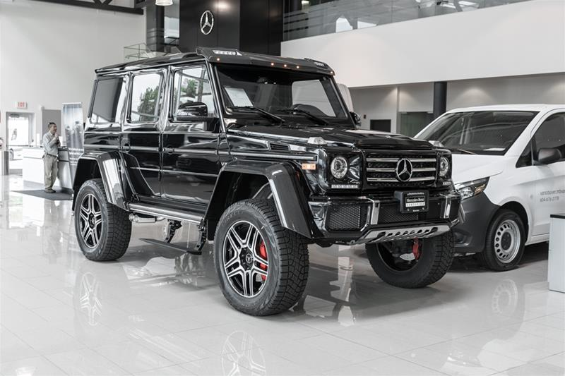 Certified Pre-Owned 2018 Mercedes-Benz G-CLASS G550