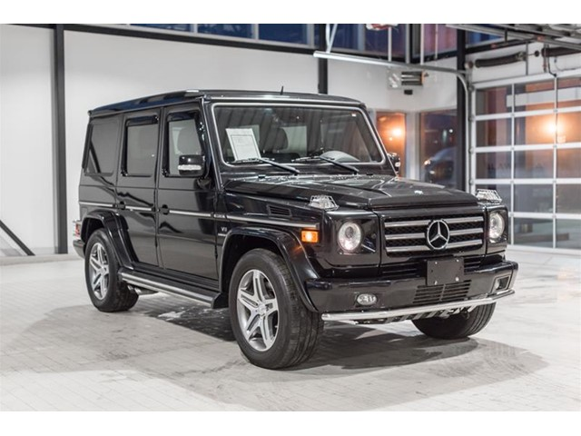 pre owned 2010 mercedes benz g class g55 amg suv mup623a mercedes benz of canada new and cpo. Black Bedroom Furniture Sets. Home Design Ideas
