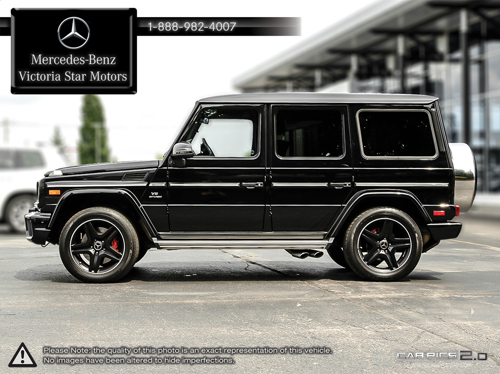 Certified pre owned 2015 mercedes benz g class g63 amg suv for Mercedes benz certified pre owned canada