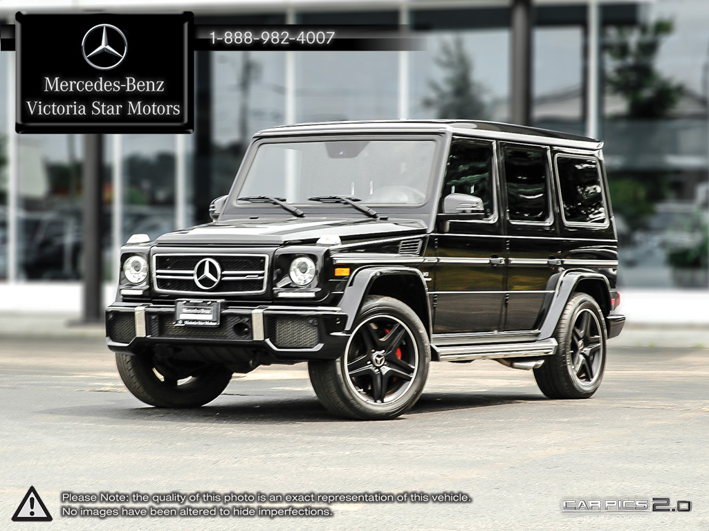 certified pre owned 2015 mercedes benz g class g63 amg suv u3287 mercedes benz of canada new. Black Bedroom Furniture Sets. Home Design Ideas