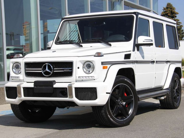 Certified Pre Owned 2017 Mercedes Benz G Class G63 Amg Suv U1743