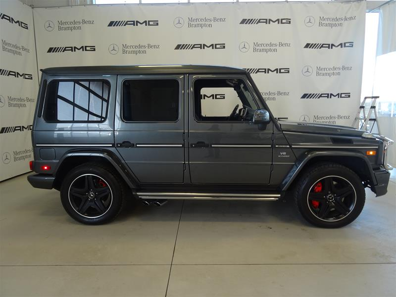 Certified Pre-Owned 2015 Mercedes-Benz G-CLASS G63 AMG