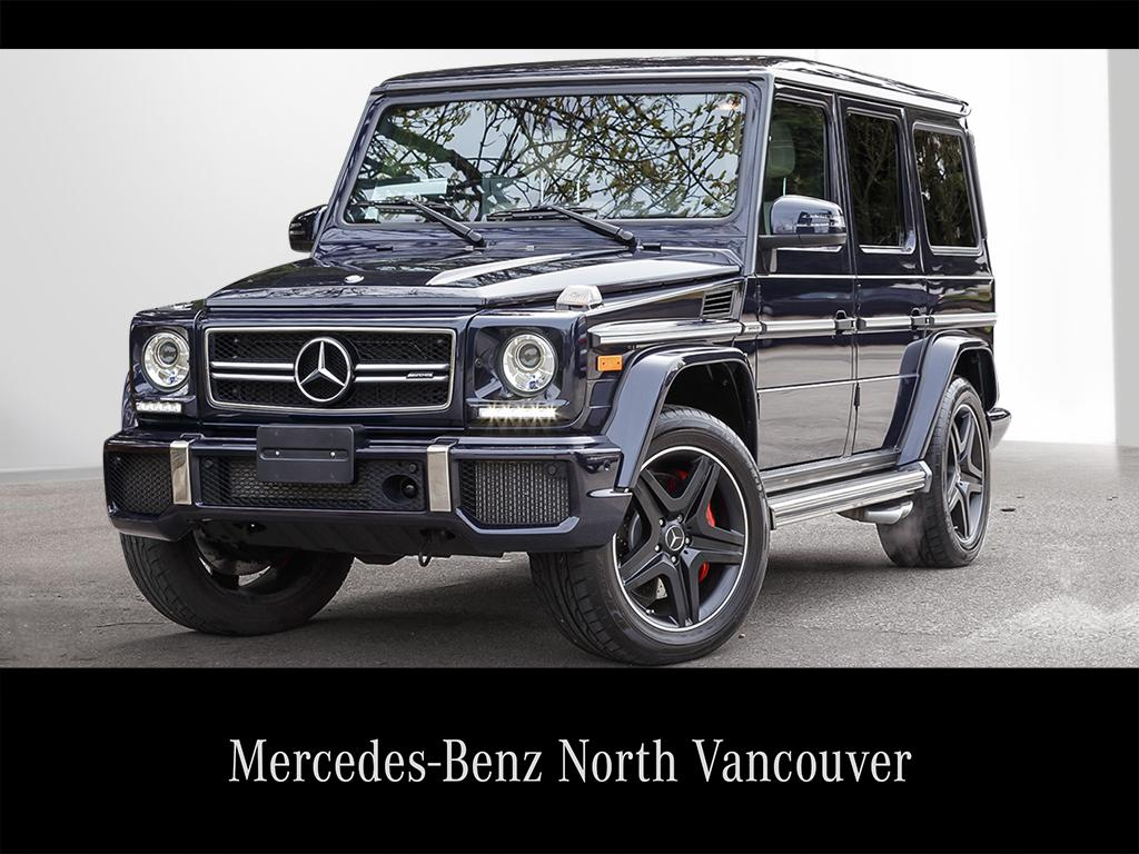Certified Pre Owned 2016 Mercedes Benz G Cl G63 Amg