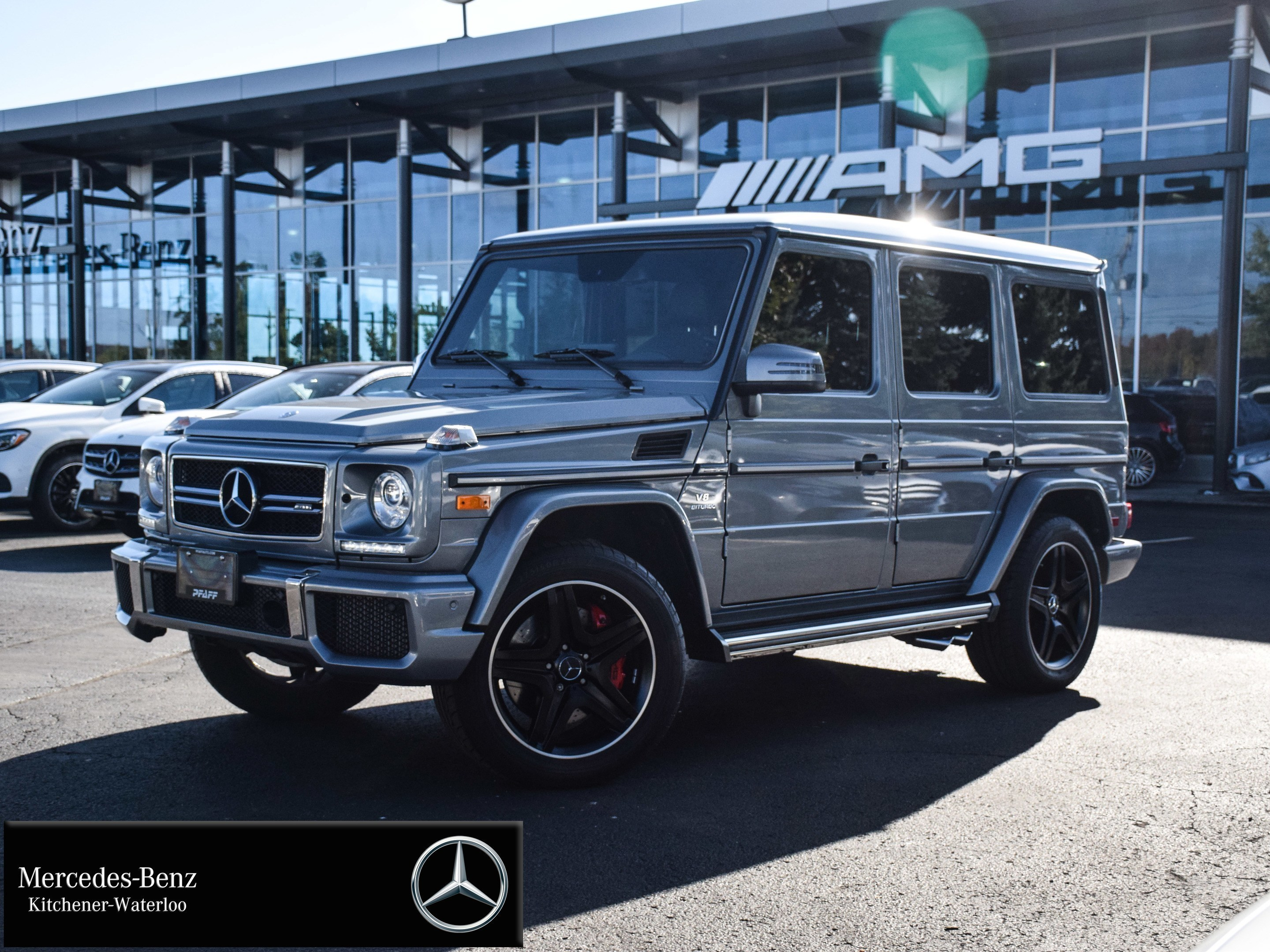 Certified Pre Owned 2017 Mercedes Benz G Class G63 Amg Suv U3644