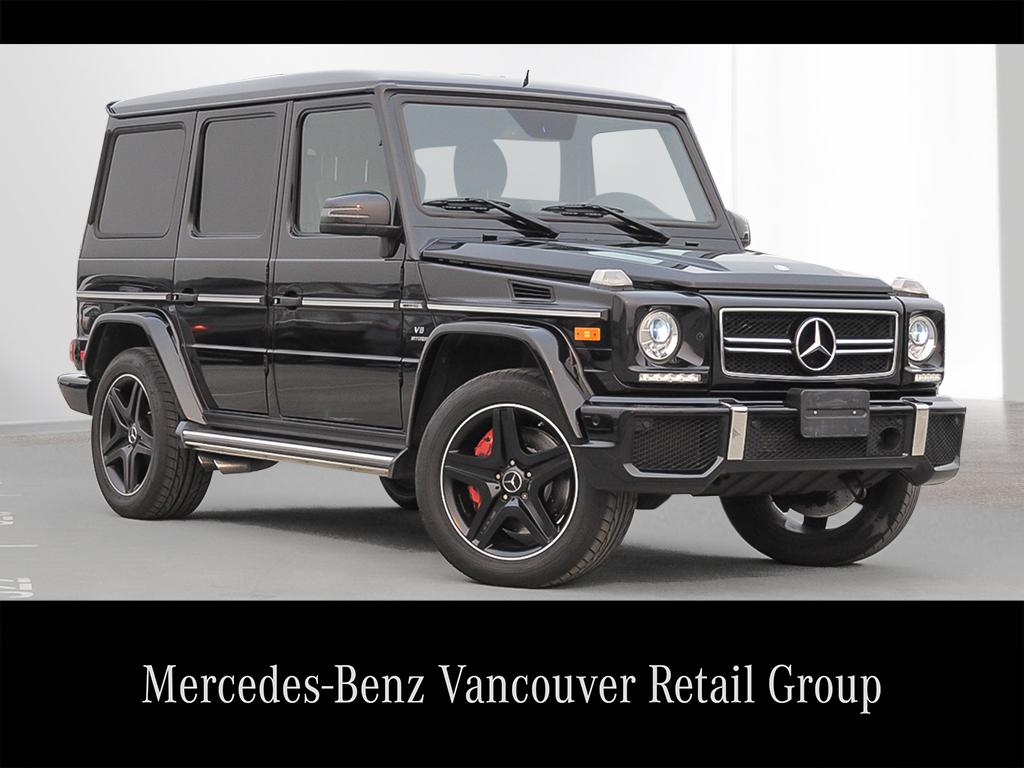Certified Pre Owned 2013 Mercedes Benz G Class G63 Amg Suv