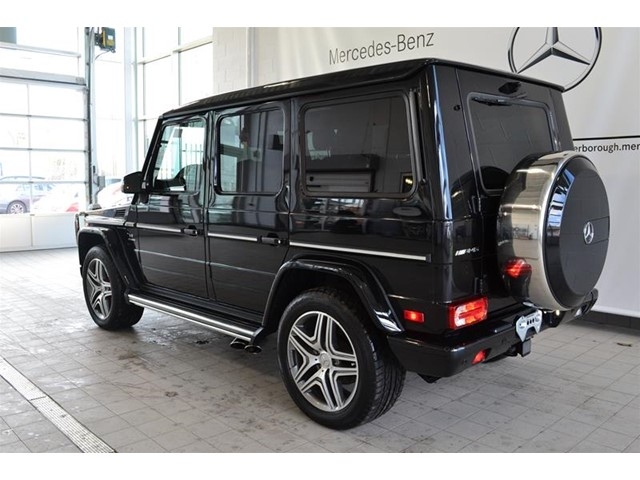 certified pre owned 2016 mercedes benz g class g63 amg suv p2594 mercedes benz of canada new. Black Bedroom Furniture Sets. Home Design Ideas