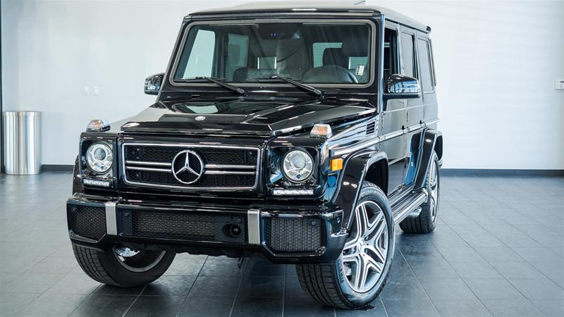 Certified pre owned 2014 mercedes benz g class g63 amg suv for Mercedes benz canada pre owned