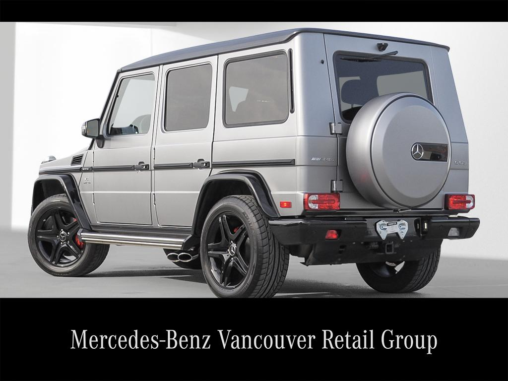 Certified pre owned 2016 mercedes benz g class g63 amg suv for Mercedes benz pre owned vehicle locator