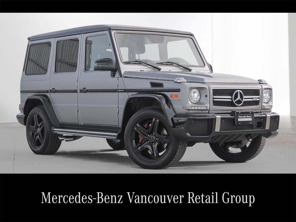 Certified pre owned 2016 mercedes benz g class g63 amg suv for Mercedes benz pre owned inventory