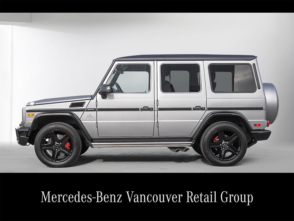 certified pre owned 2016 mercedes benz g class g63 amg suv v180048a mercedes benz canada new. Black Bedroom Furniture Sets. Home Design Ideas