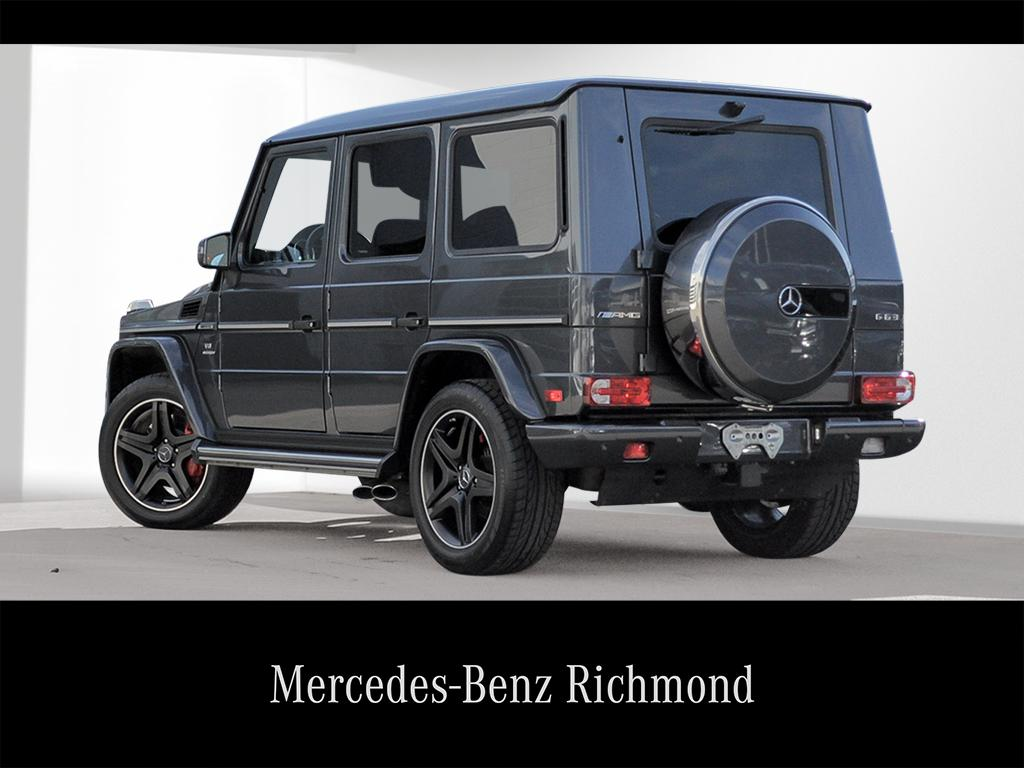 Certified Pre-Owned 2016 Mercedes-Benz G-CLASS G63 AMG