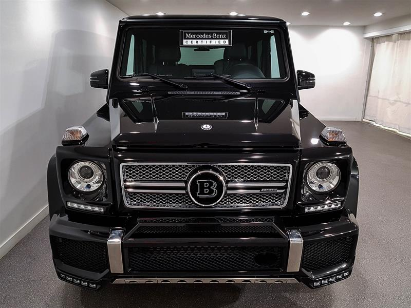 Certified Pre-Owned 2017 Mercedes-Benz G-CLASS G65 AMG