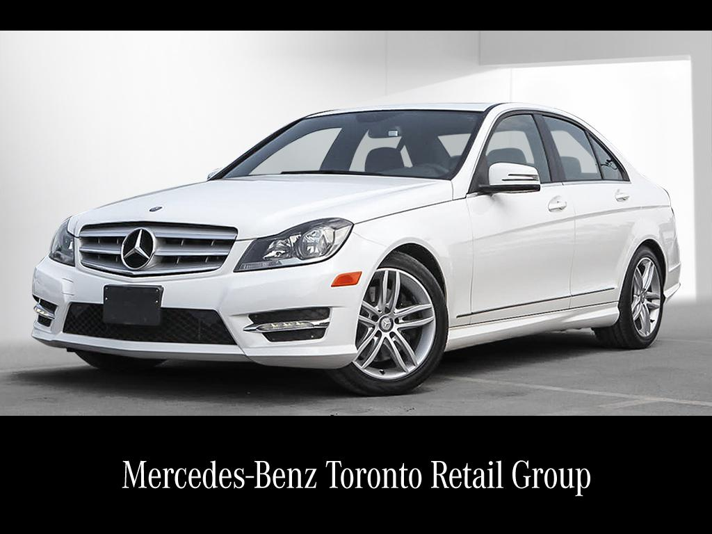 Certified pre owned 2013 mercedes benz c class c300 4 door for Mercedes benz cpo