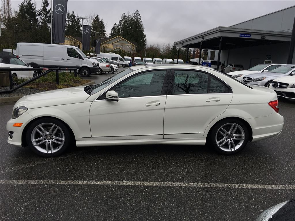 Certified pre owned 2012 mercedes benz c class c250 4 door for Mercedes benz c class pre owned