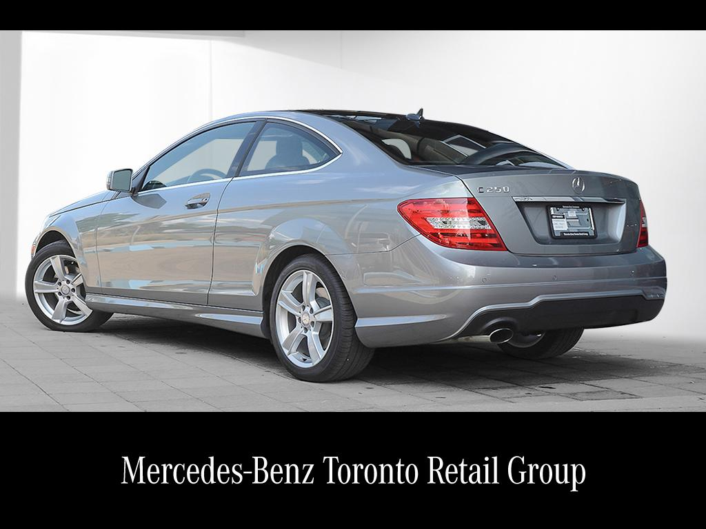 Certified pre owned 2014 mercedes benz c class c250 2 door for Mercedes benz certified pre owned canada