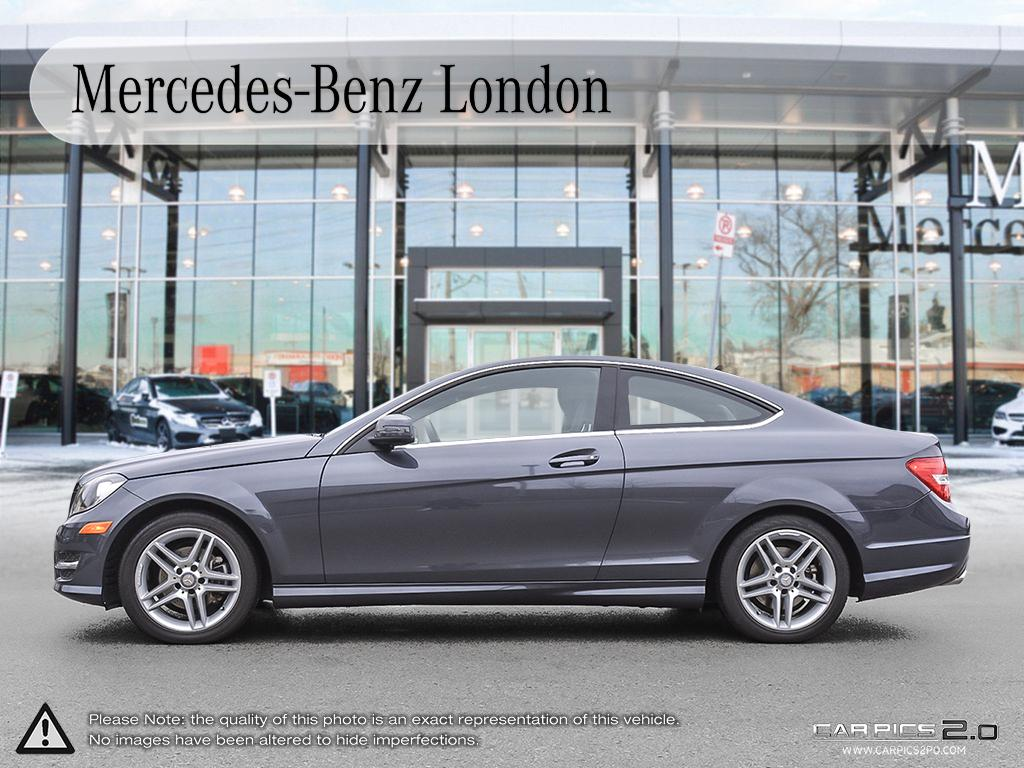 Certified pre owned 2015 mercedes benz c class c250 2 door for Mercedes benz canada pre owned